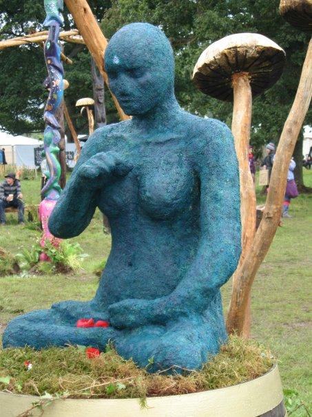 Blue Statue - Mindfield