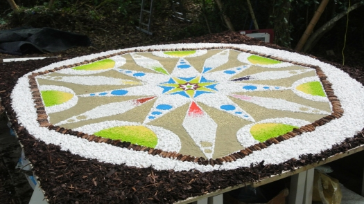 The Mandala Nature Installation.