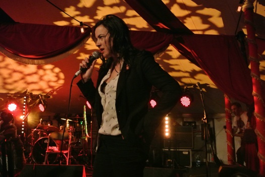 Camille O'Sullivan - Jerry Fish's Electric Side Show  Saturday.