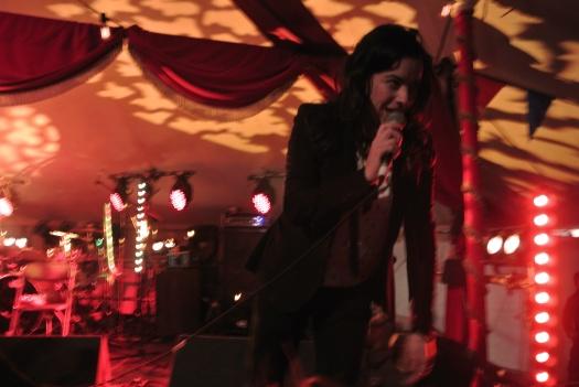 Camille O'Sullivan - Jerry Fish's Electric Sideshow Saturday.