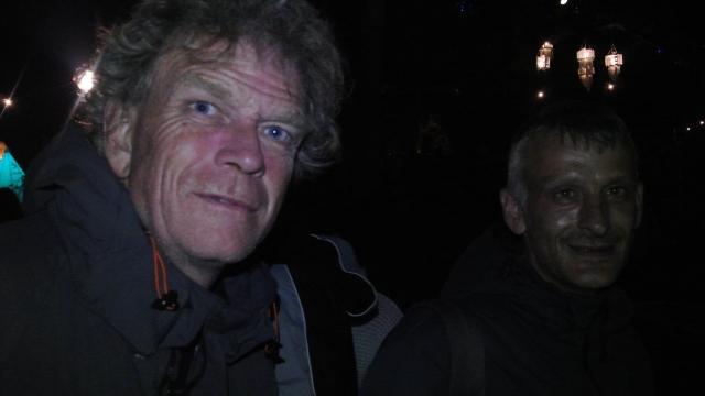 Myself & Kevin at Body&Soul, Sunday.