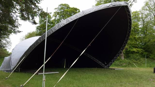 The Bulmer's Stage (Main Stage from last year)