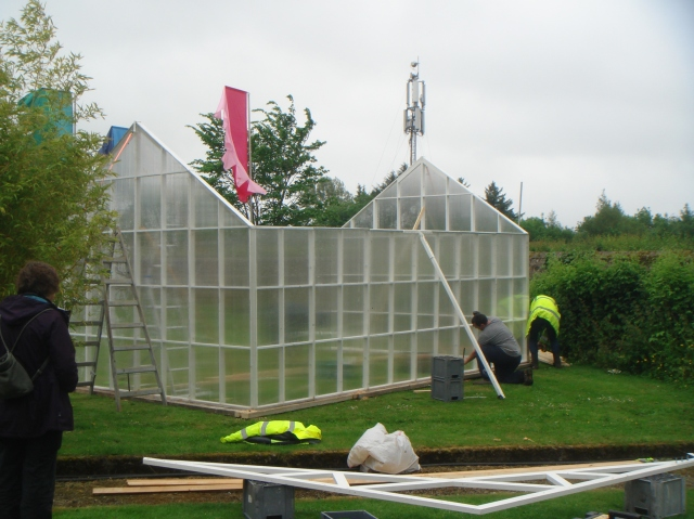 The build in the Walled Garden.