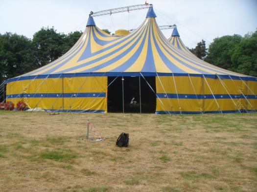 Midnight Circus Tent.